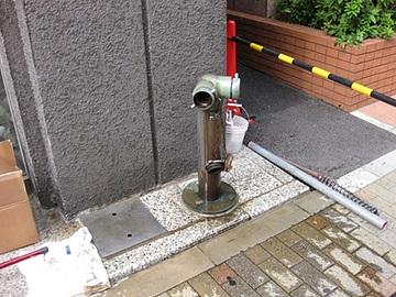 連結送水管の耐圧試験
