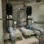 受水槽ポンプの交換